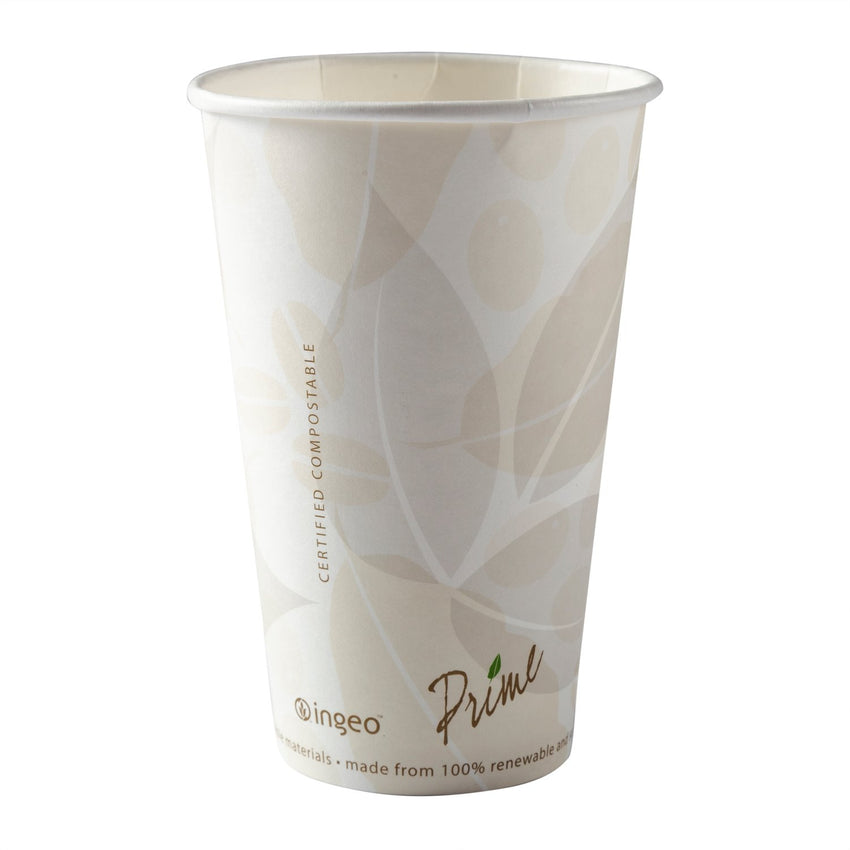 16 oz Compostable PLA Lined Hot Cups