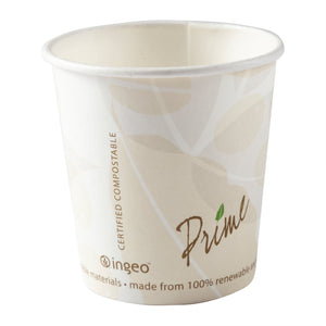 4 ounce Compostable PLA Lined Hot Cup