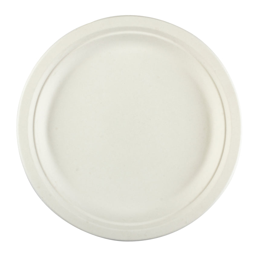 "Plate Bagasse 10"", Case 125x4"