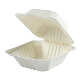 Clamshell Bagasse Small, Case 125x4
