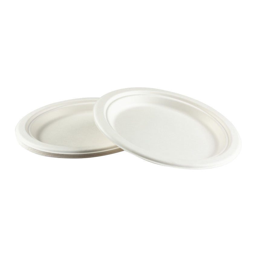 "Plate Bagasse 9"", Case 125x4"