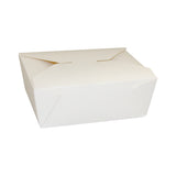 Take Out Food Container #9 HW White, Case 50x4