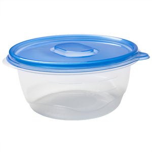 Container Big Bowl w Lid PP BPA Free 48oz, Case 6x8