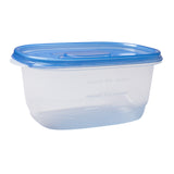 Container Deep Dish w Lid PP BPA Free 64oz, Case 6x8