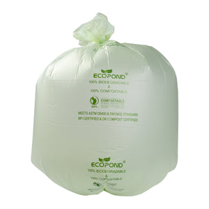 Garbage Bag Compostable 35x50