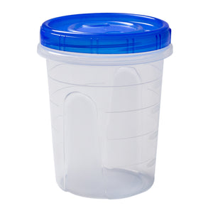 Container Twist Top w Lid PP BPA Free 32oz, Case 5x8