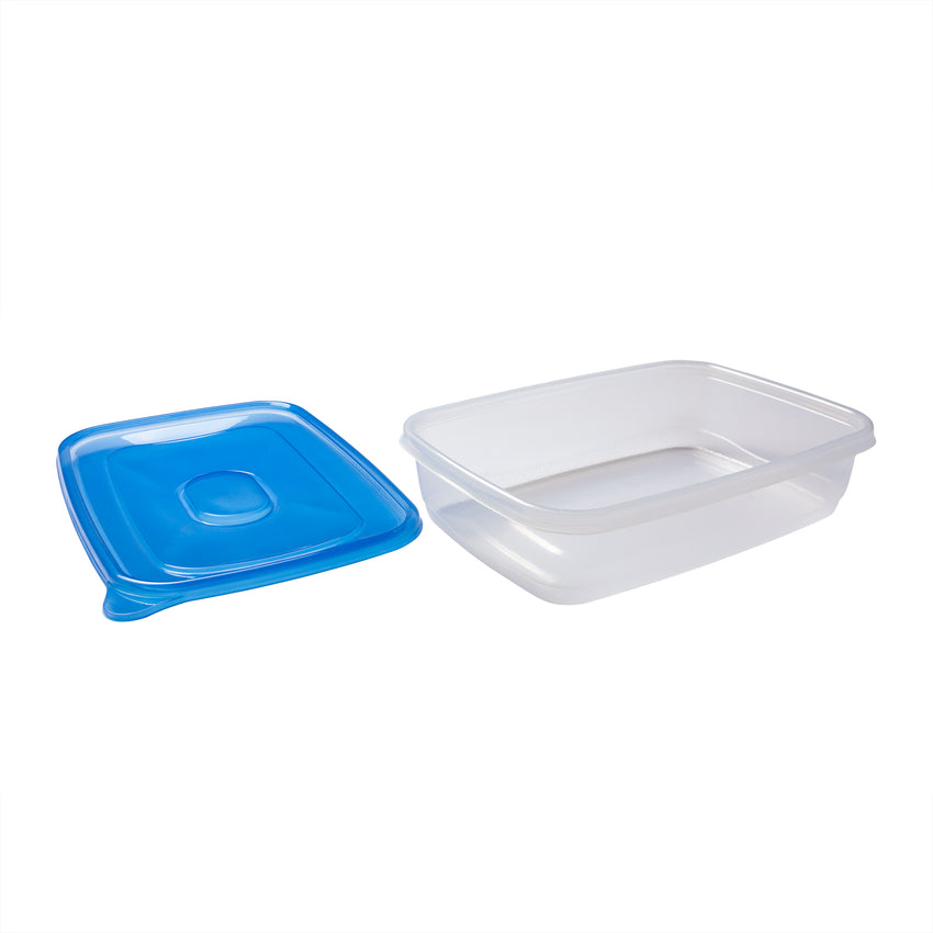 Container Jumbo w Lid PP BPA Free 128oz, Case 3x8