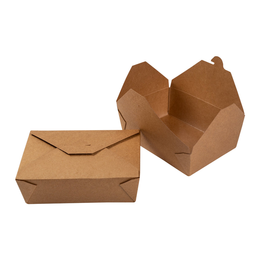 Take Out Food Container #3 Natural, Case 50x4