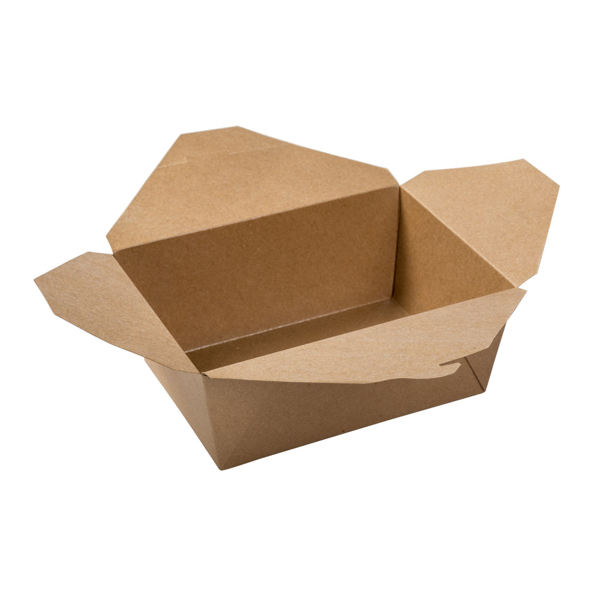 Take Out Food Container #4 Natural, Case 40x4