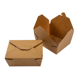 Take Out Food Container #8 Natural, Case 50x6