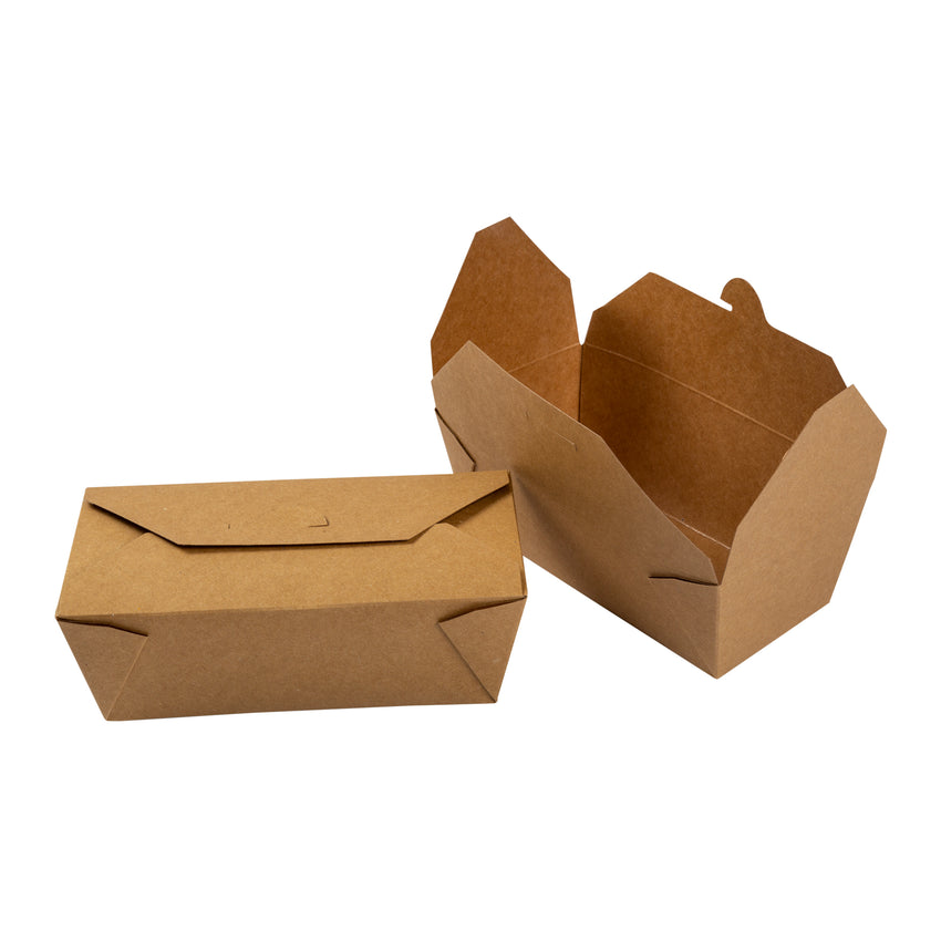 Take Out Food Container #9 Natural, Case 50x4