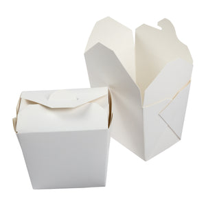 Food Pail Paper 16oz White, Case 40x10