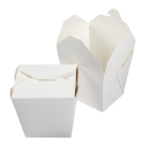 Food Pail 26oz White, Case 40x10
