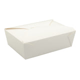 Take Out Food Container #3 White, Case 50x4