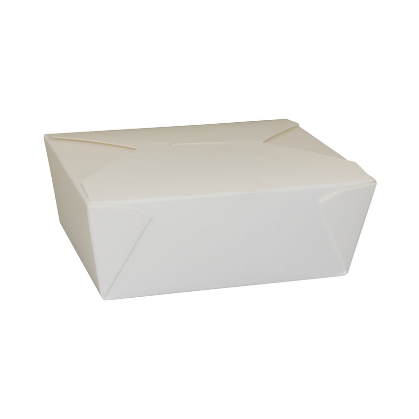 Take Out Food Container #8 HW White, Case 50x6