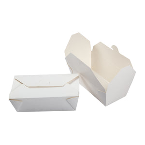 Take Out Food Container #9 White, Case 50x4