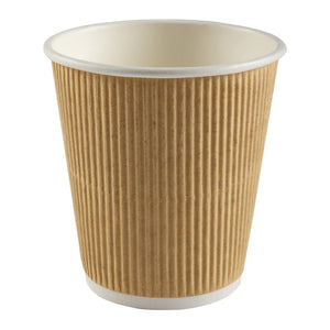 Cup Hot Kraft Ripple 10oz Nature, Case 40x25