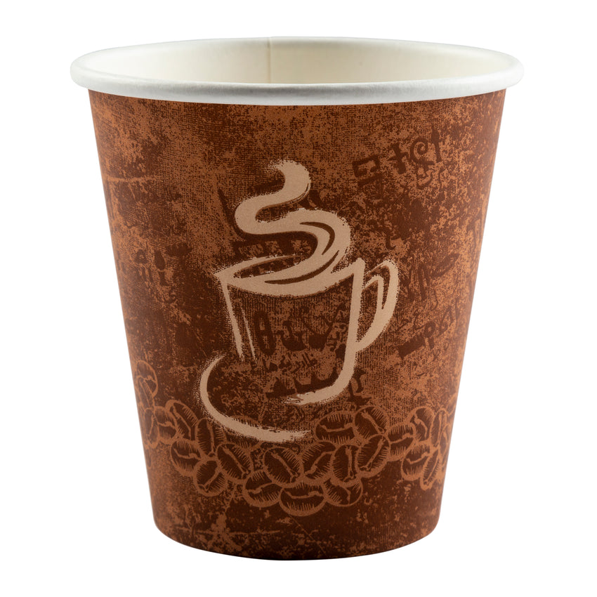 Cup Hot Paper Single Wall 10oz, Case 50x20