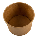 Container Kraft Paper 8oz, Case 50x20
