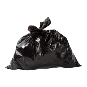 Garbage Bag 20x22 Regular Black, Case 50x10