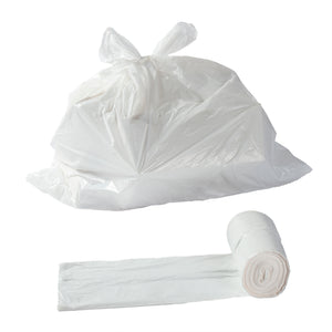 Garbage Bag 20x22 Regular White, Case 50x10