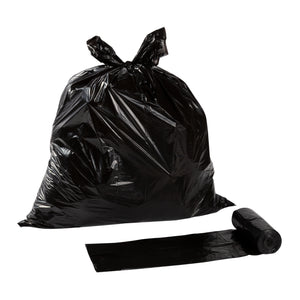 Garbage Bag 22x24 Regular Black, Case 50x10