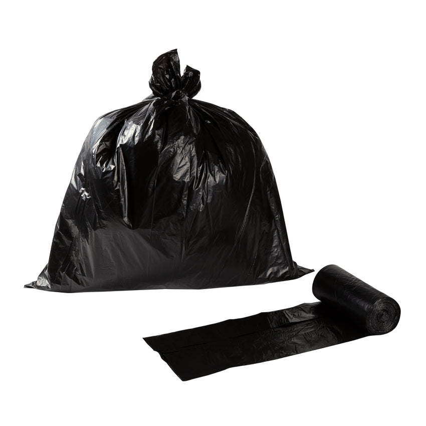 Garbage Bag 30x38 Extra Heavy Black, Case 25x4