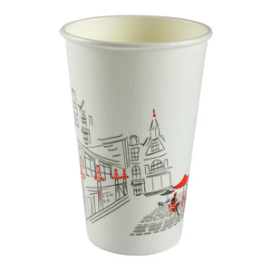 Cup Ideal Feel Hot 16oz, Case 50x20