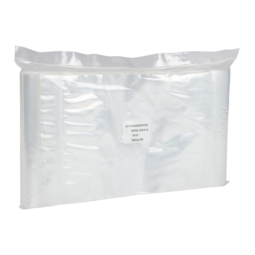 "Bag Reclosable Poly 6x10"" 2ml, Case 1000"