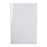 "Bag Resealable Poly 8x11"" w Adhesive Strip, Case 50x20"