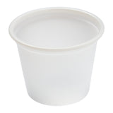 Portion Cup 1oz Clear, Case 100x48
