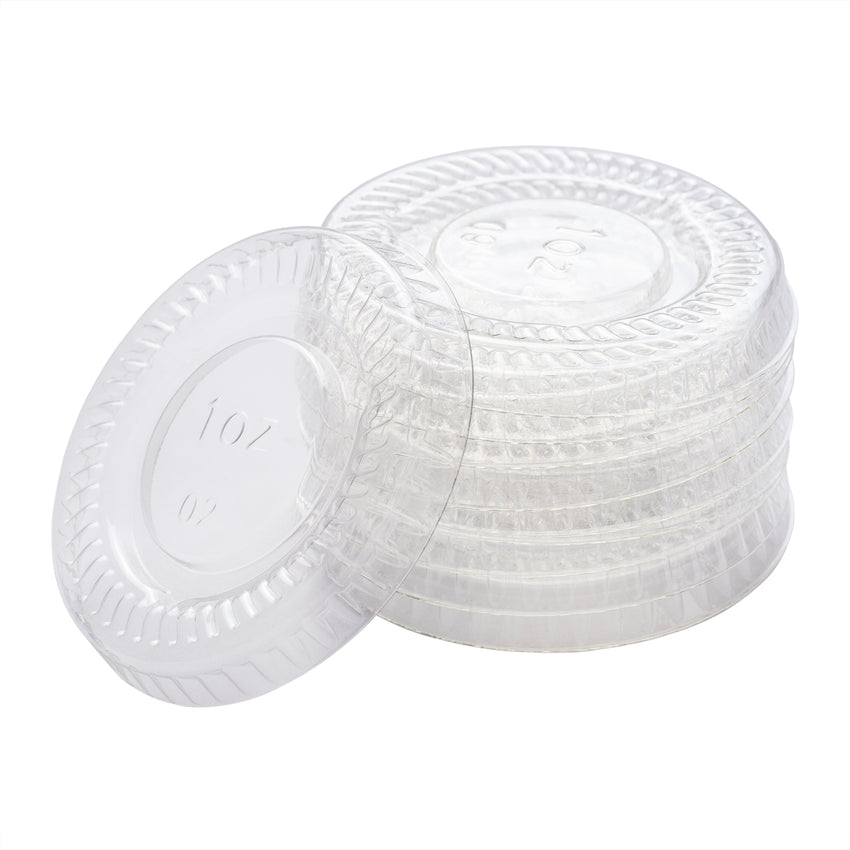 Lid for Portion Cup PET 1oz Clear, Case 100x48