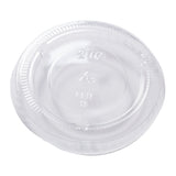 Lid for Portion Cup PET 1.5 & 2oz Clear, Case 100x24