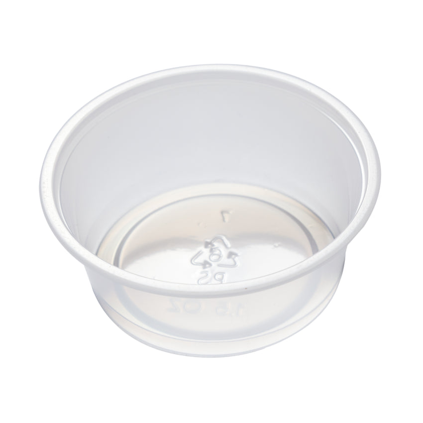 Portion Cup 1.5oz Clear, Case 100x24