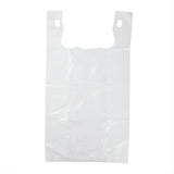 "Bag T-Shirt LDPE S3 11x6x21"" White, Case 1000"