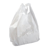 "Bag T-Shirt LDPE S5 12x7x23"" White, Case 1000"