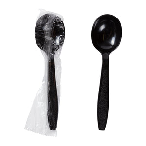 Soup Spoon HW Polystyrene Black IW, Case 1000