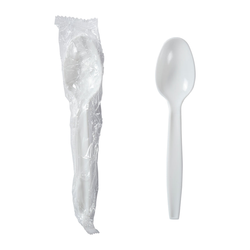 Teaspoon MW Polystyrene White IW, Case 1000