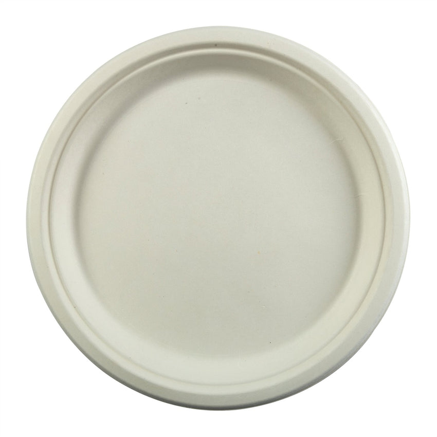 "10"" Round Plates, Overhead View"