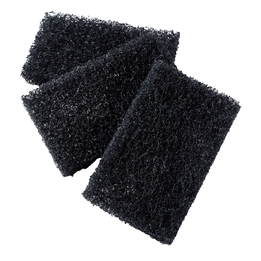 "Scouring Pad Extra Heavy Duty 3.5x5"" Blue, Case 10x4"