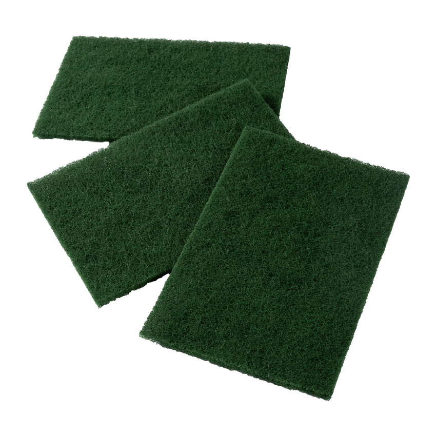 Scouring Pad Medium Duty Nylon Green, Case 10x10