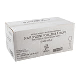 Soup Spoon MW Polypropylene White, Case 1000