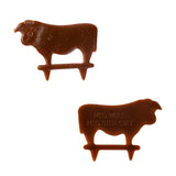 Steak Marker Medium Well Brown, Case 500