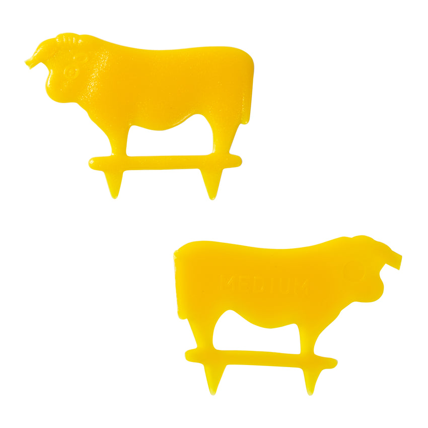 Steak Marker Medium Yellow, Case 500