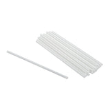 "Straw Regular 6"" White, Case 500x9"