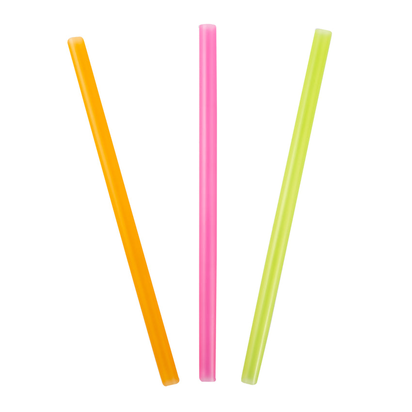"Straw Stout 10"" Assorted Colour, Case 600"