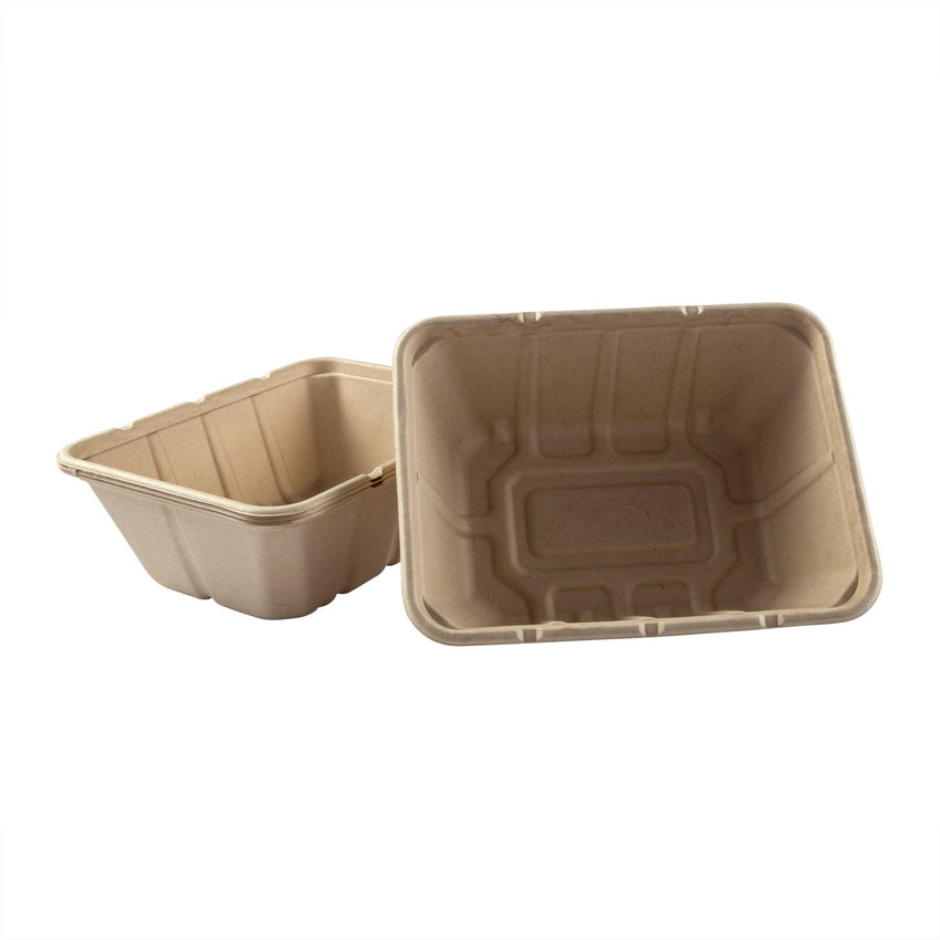 "Deep Tan Tubs 7"" x 9"" x 3.125"", Multiple Tub View"