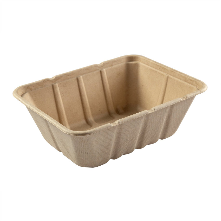"Deep Tan Tubs 7"" x 9"" x 3.125"""