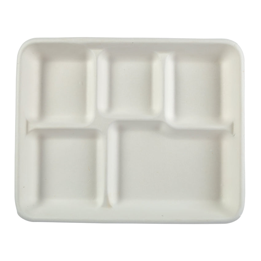 5 Compartment Trays
