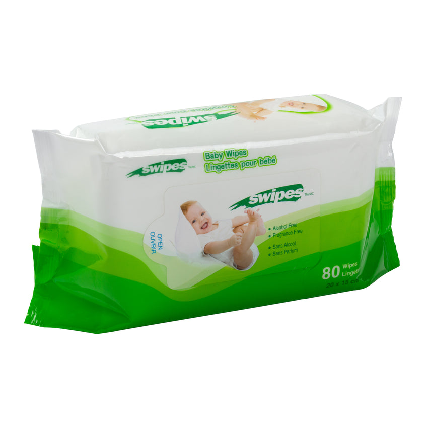 Baby Wipes 15x20cm, Case 80x12